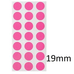 Kryo Farbpunkte Ø19mm (Farbigen Markierungspunkte)
