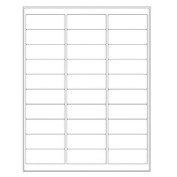 Autoclave Labels For Laser Printers - 66.7 x 25.4mm (Removable)