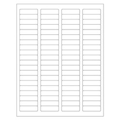 Autoclave Labels For Laser Printers - 44.5 x 12.7mm (Permanent)
