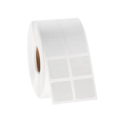 Xylol und Lösungsmittelbeständige Etiketten - 25,4 x 25,4mm