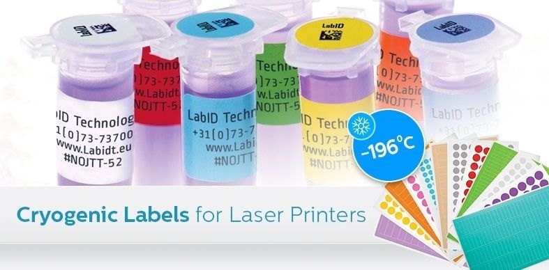 Cryo Laser Labels (Cryogenic Labels For Laser Printers)