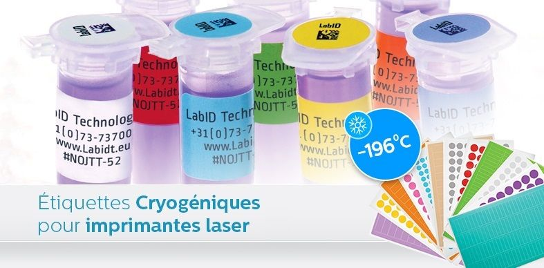 Étiquettes Cryogéniques Pour Imprimantes Laser