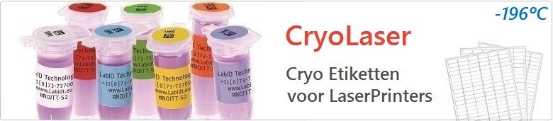 Cryo Etiketten Voor LaserPrinters
