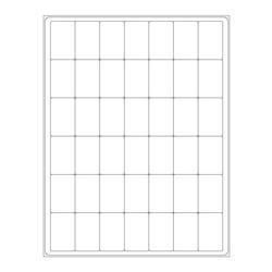 ÉtiquettesCryogéniques Pour Imprimantes Laser - 28,6 x 44,45mm (Format US Letter)