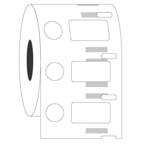 Étiquettes DYMO Cryogéniques - 23,9 x 12,7 + Ø 11,1mm