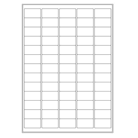 Cryo Labels For Laser Printers - 38.1 x 21.2mm (A4 Format)