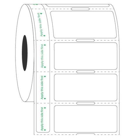 Étiquettes Transparentes Pour Tubes Déjà Congelés - 44,5 x 19,05mm