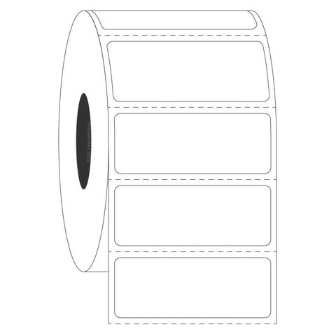 Étiquettes Cryogéniques Pour Racks En Acier - 41,27 x 15,87mm