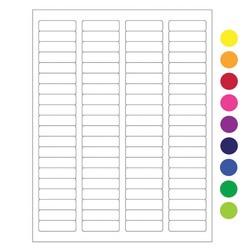 Laser-Etiketten Für Autoklaven - 44,5 x 12,7mm / Abnehmbar