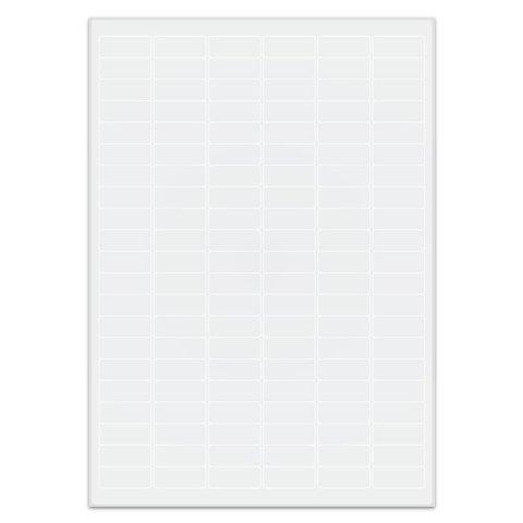 Étiquettes Cryogéniques - 31,5 x 13mm Pour Imprimantes Laser