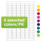 LabID™-Étiquettes Cryogéniques Pour Imprimantes Laser 31,5x13mm (CouleursAssorties)