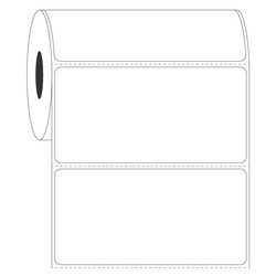 Термотрансферные этикетки для автоклавов101,6 x 50,8мм