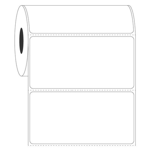 Autoclave Labels - 101.6 x 50.8mm / Thermal Transfer