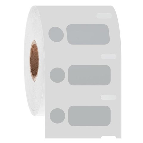 Cryo DYMO Etiketten - 26,4 x 12,7mm + Ø9,5mm / Gekleurd