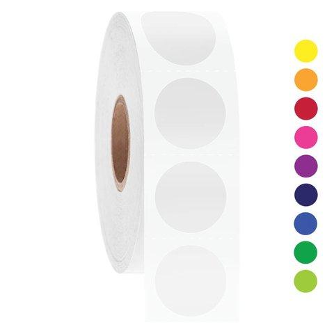 Kryo Barcode-Etiketten - Ø 19,1mm / Rund