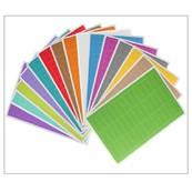 Farbige Rechteckige Etiketten