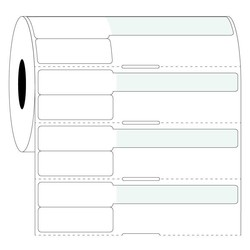 Injectiespuit Etiketten 38x25,4mm+63,5mm / Thermal Transfer