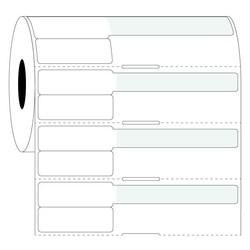 Syringe Labels - 38x25.4mm+63.5mm / Thermal Transfer
