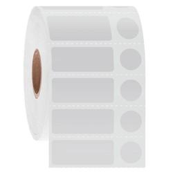 LabID™ - Cryo Barcode Etiketten - 31,8 x 12,7 + Ø 11,1mm