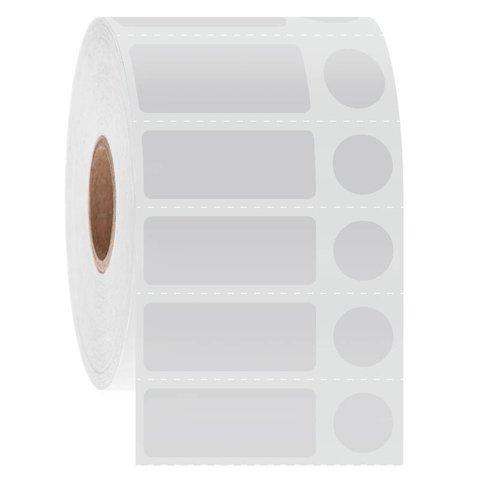 Étiquettes Cryo À Code-Barres - 31,8 x 12,7mm + Ø 11,1mm