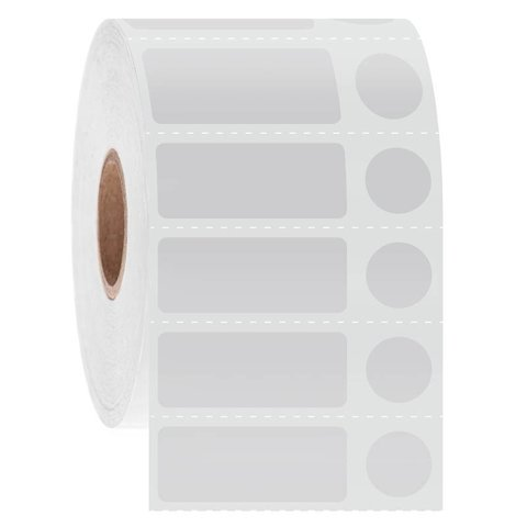 Kryo Barcode Etiketten - 31,8 x 12,7mm + Ø11,1mm