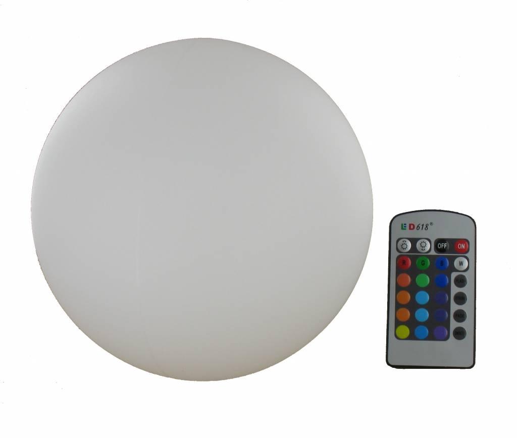 LED Decoratie Bol RGB 20 CM Oplaadbaar met afstandsbediening