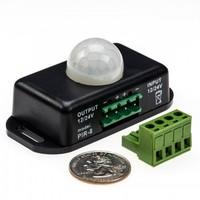 Mini ledstrip opbouw bewegingsmelder met PIR sensor voor 12-24V strips