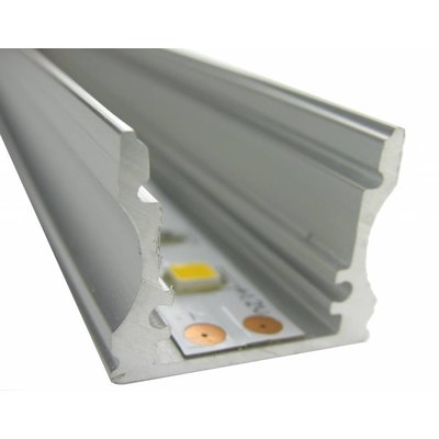 Aluminium U Profiel hoog 100CM