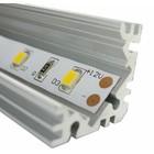 Aluminium U Profiel voor 90 graden hoeken 100CM