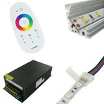 Toebehoren voor enkele kleur en multikleur RGB LED Strips