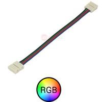 RGB ledstrip connector koppelstuk 15cm 4-aderig, verbinden zonder te solderen