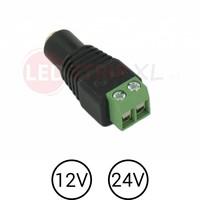 LED Jack DC Socket Female naar draad connector