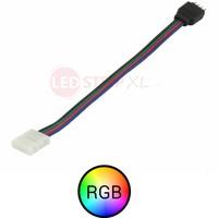 RGB ledstrip stekker koppelstuk 15cm 4-aderig, verbinden zonder te solderen