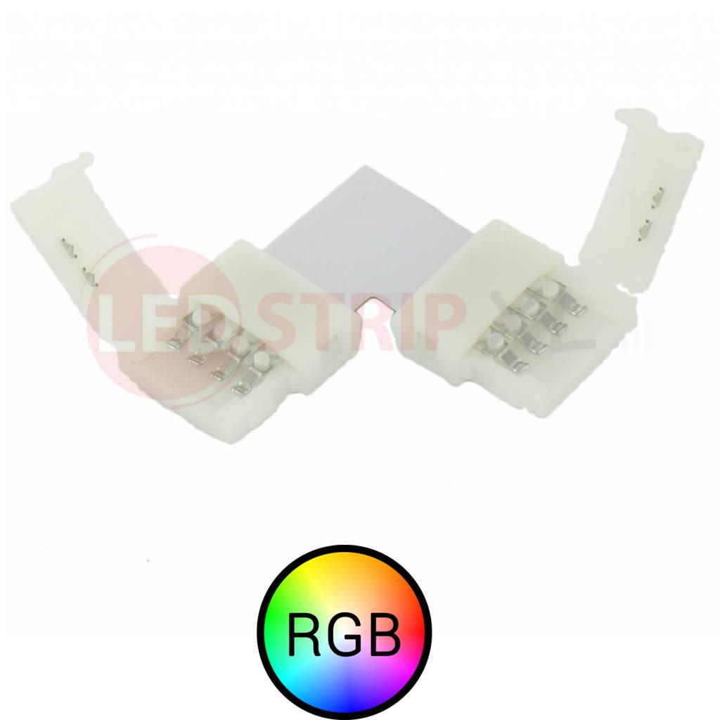 RGB LEDStrip koppelstuk voor hoeken soldeervrij