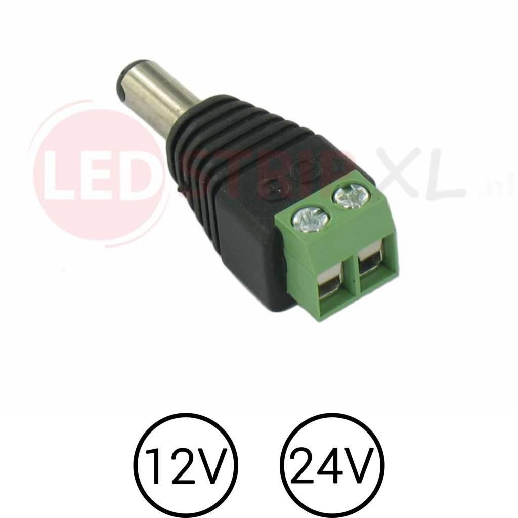 LED Stekker DC Male naar Draad