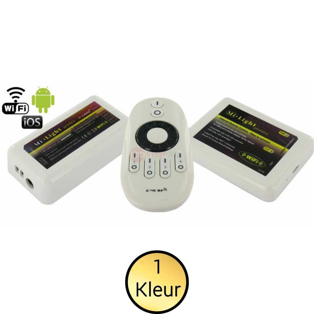 Milight LEDStrip 4-zone dimmer RF+WiFi SET