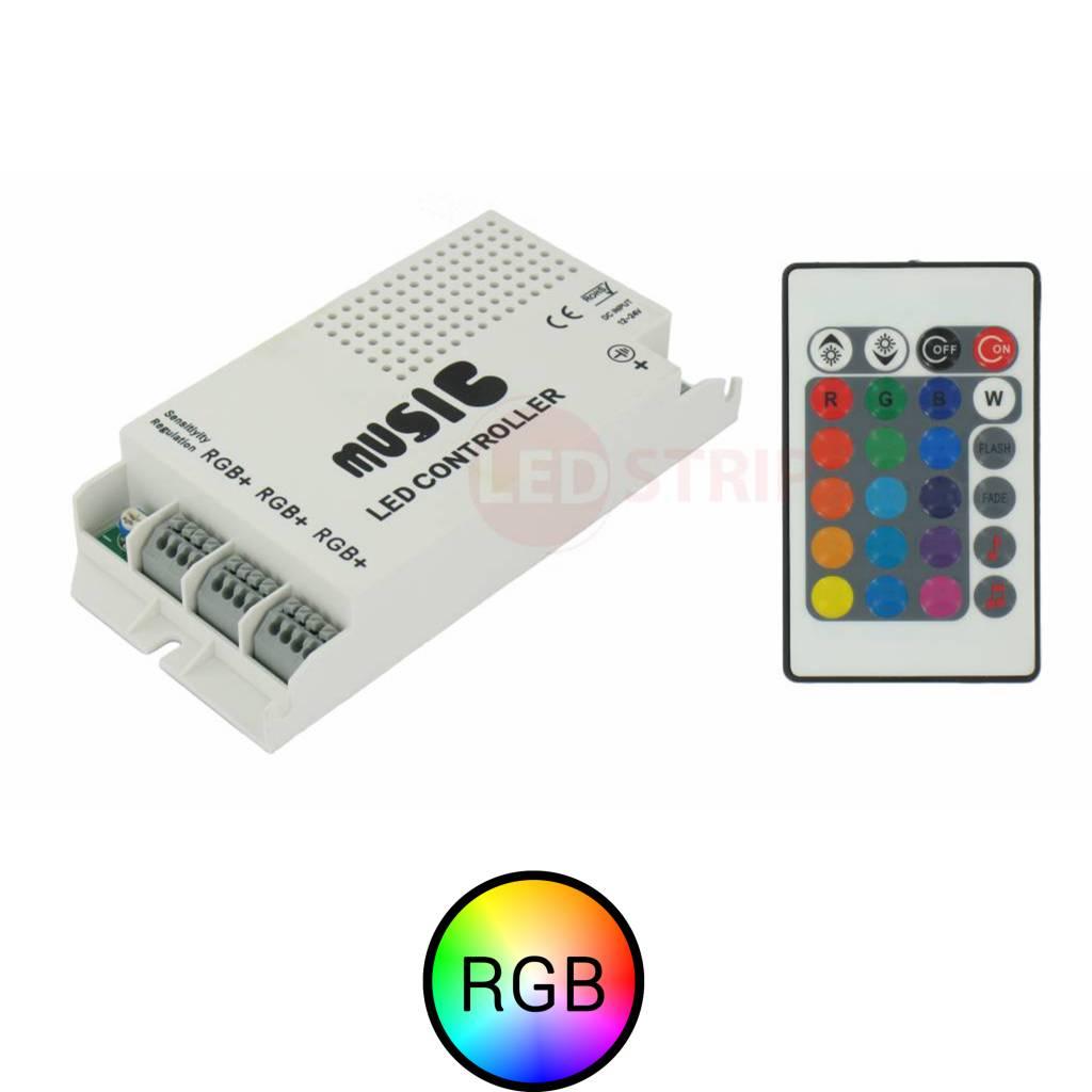 RGB LEDStrip Muziek Controller set
