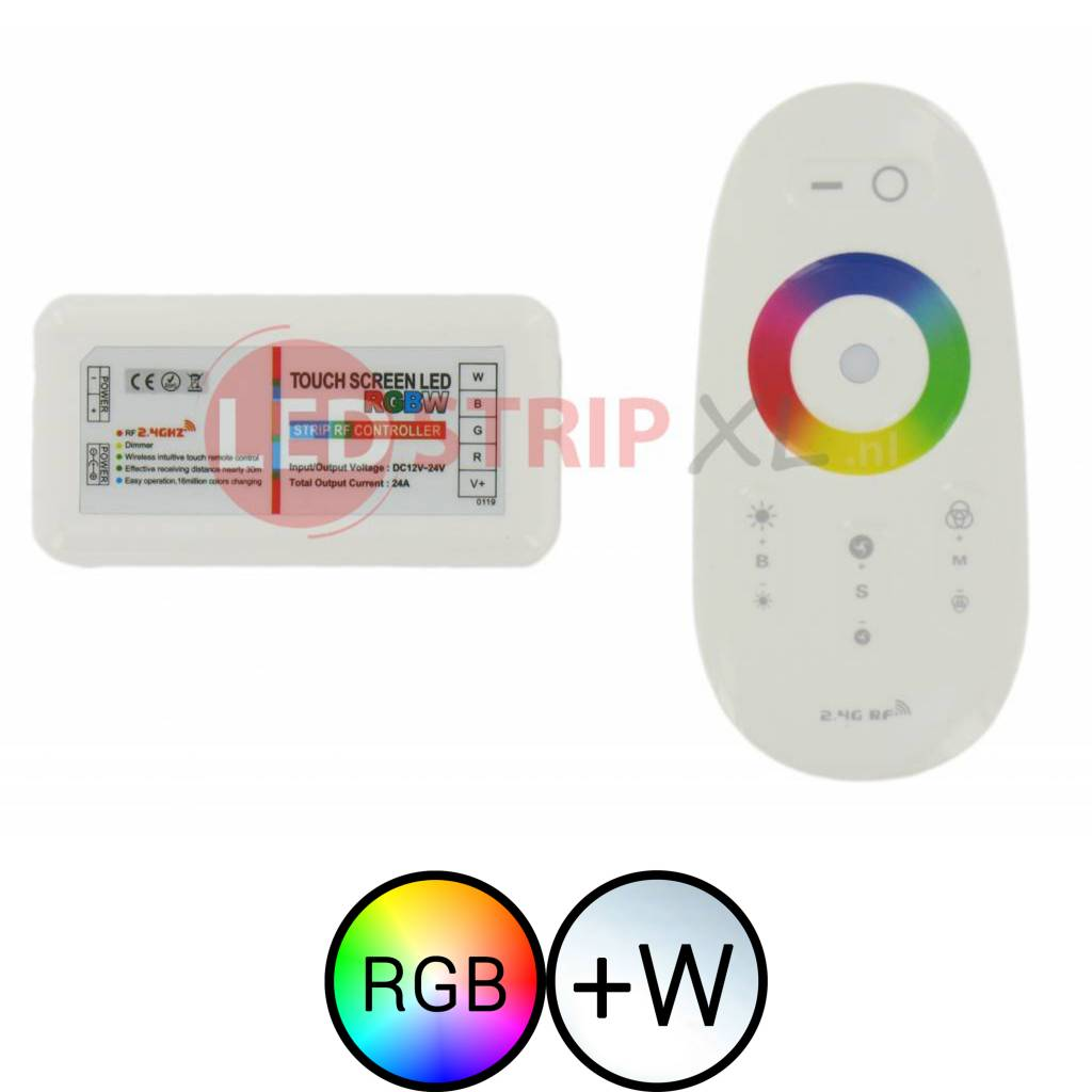 RF Touch Controller voor RGBW LED Strips