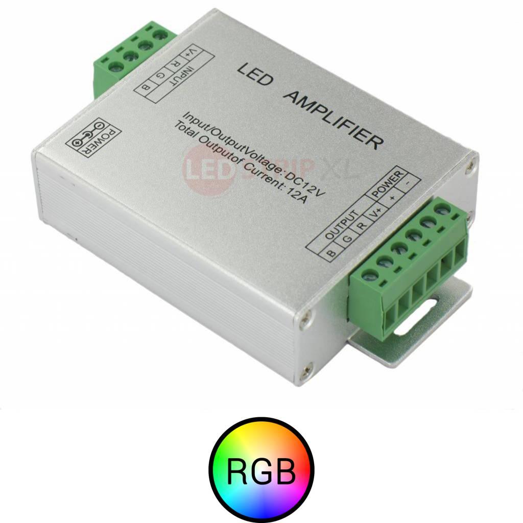 RGB LEDStrip Versterker 144 Watt