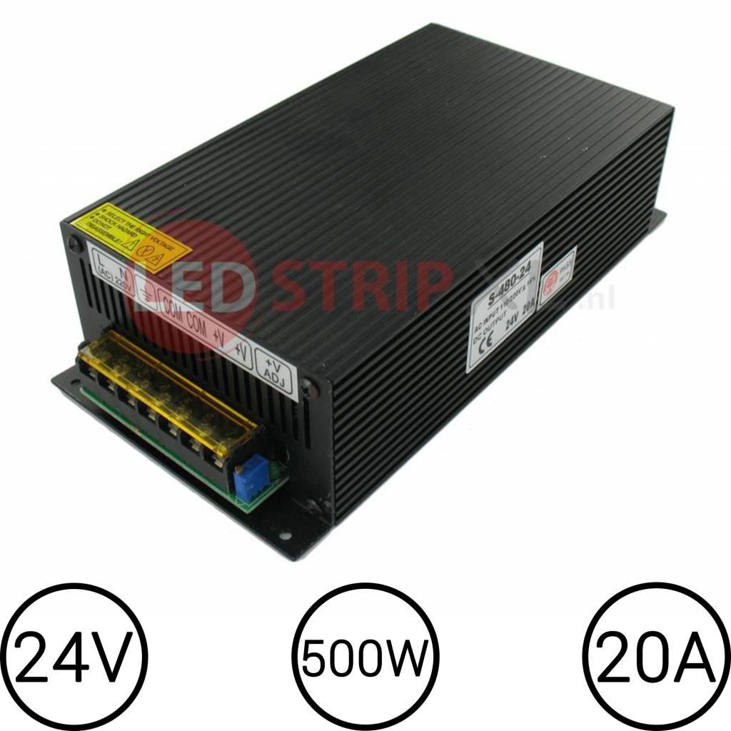 24V LED Voeding 20 Ampère 500W