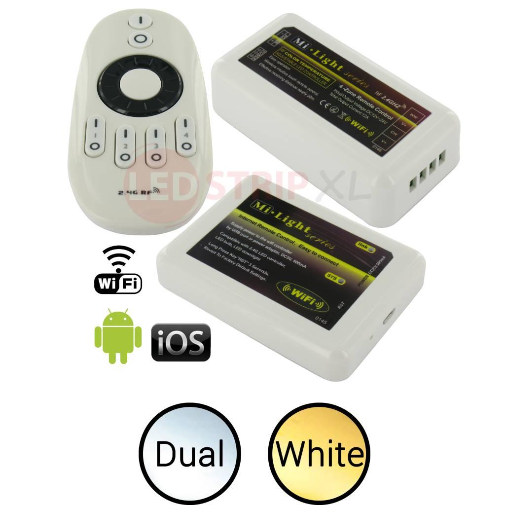 Milight LED Dual White 4-Zone RF+WiFi SET