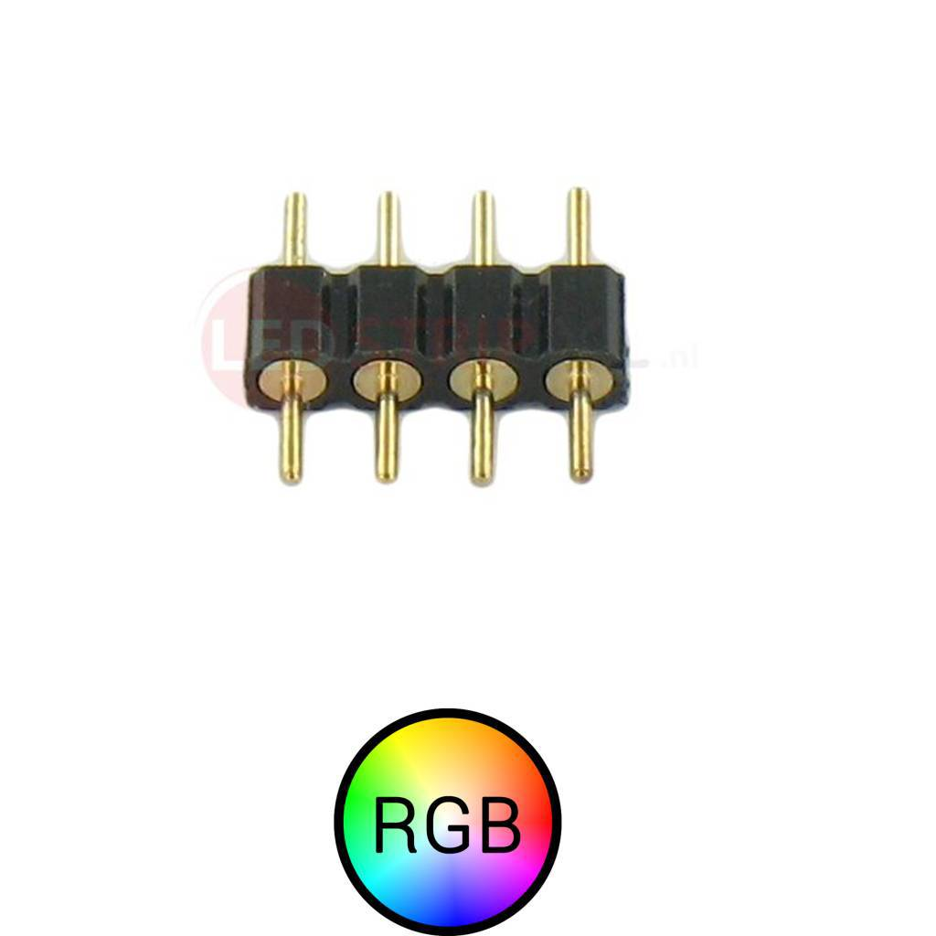 RGB LEDStrip 4 Pins Male Male connector