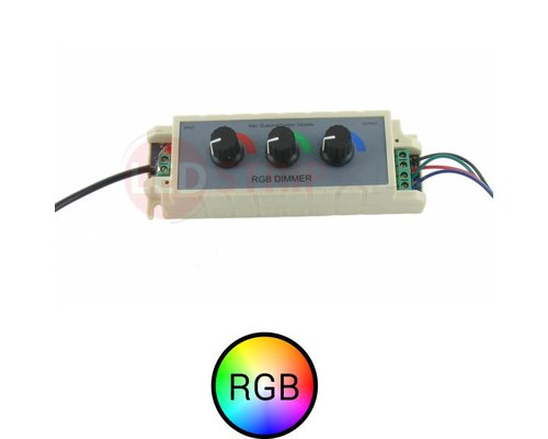 RGB ledstrip traploze draaidimmer mixer