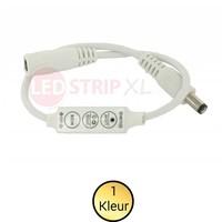 LEDStrip mini controller en dimmer voor enkelkleurige strips 12-24V