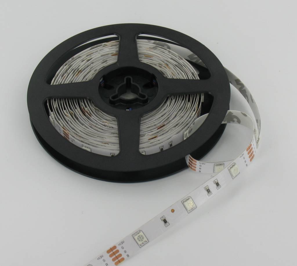ledstrips rgb 5 meter 30 led per meter 12 volt ledstripxl. Black Bedroom Furniture Sets. Home Design Ideas