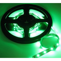 PowerLED Groen 0,5 t/m 2,5 Meter 60LED per meter 12 Volt