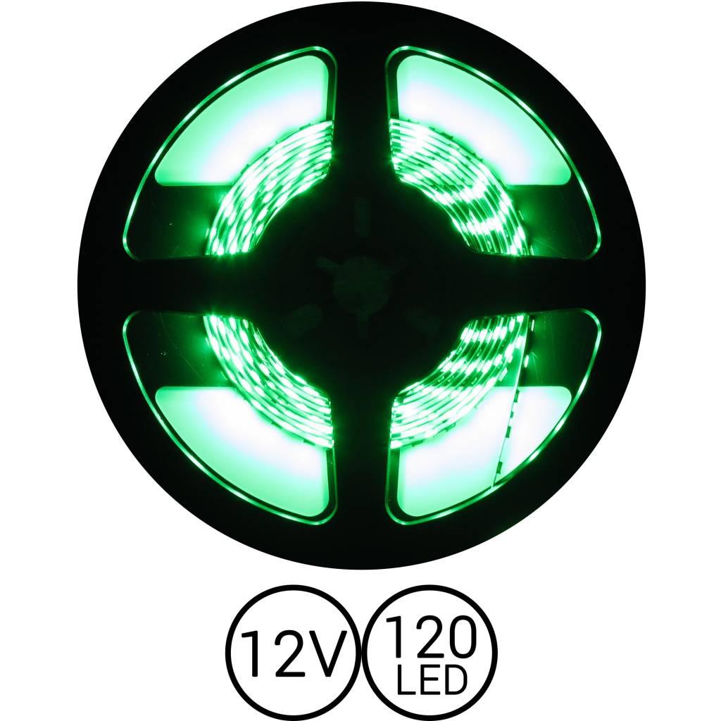 PowerLED Groen 0,5 t/m 2,5 Meter 120LED 12 Volt