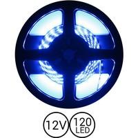 PowerLED Blauw 0,5 t/m 2,5 Meter 120LED per meter 12 Volt