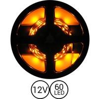 PowerLED Geel 0,5 t/m 2,5 Meter 60LED per meter 12 Volt
