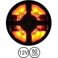 PowerLED Oranje 0,5 t/m 2,5 Meter 60LED per meter 12 Volt